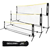 Boulder Portable Badminton Net Set - 10-FT Mini Net for Tennis,...