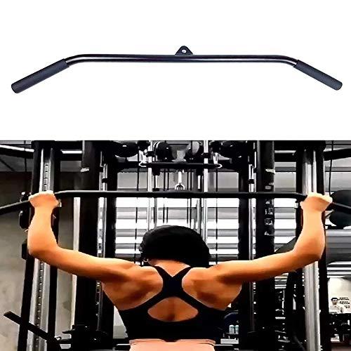 AMAZOM Home Gym Pulldown Bar Befestigung Für Kabelmaschine, Stangen Mit Gummigriff Für Kabelriemenscheibensystem