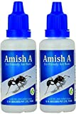 Amish A Ant Repellent Bottle for Home, Garden, Kitchen and Wall Edges (20G) - Set of 2