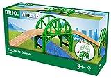 BRIO World 33885 - Stapelbrücke mit Rampen Zubehörteil Holzeisenbahn