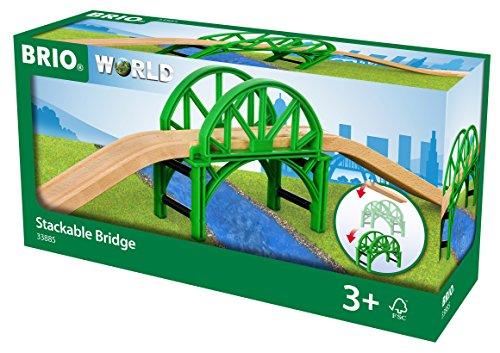 BRIO Bahn 33885 - Stapelbrücke mit Rampen