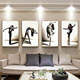 xdai Pintura de Lienzo Imagen de Baile de Ballet Decoración del hogar Cartel de...