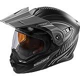 Castle X EXO-CX950 Apex モジュラースノーモービルヘルメット ブラック/グレー MED