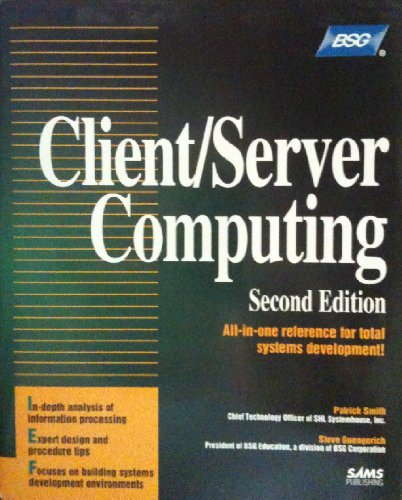 Compare Textbook Prices for Client/Server Computing Professional Reference Series Subsequent Edition ISBN 9780672304736 by Smith, Patrick N.,Guengerich, Steven L.
