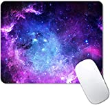 Fire Galaxy Mouse Pad Non-Slip Rubber Base Gaming MousePads for Computers Laptop Office,Cute Mouse Pads with Designs for Women ,9.5