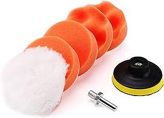 7PCS 3in Car Foam Polishing Pads Kit Drill Buffing Sponge Pads for Car Buffing Polishing Sanding Waxing