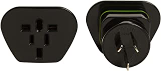 Korjo International Power Adapter, 6.5 Centimeters, Black