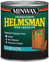 Minwax 63205444 Helmsman Spar Urethane, quart, Satin