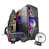 Pc Gamer Eros Intel i7 GTX 1660 6GB 16GB DDR3 Hd 1TB SSD 480GB Wi-fi