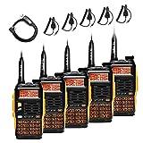 Baofeng Gt-3tp walkie talkie, 5 Radio + 1 Câble de Programmation