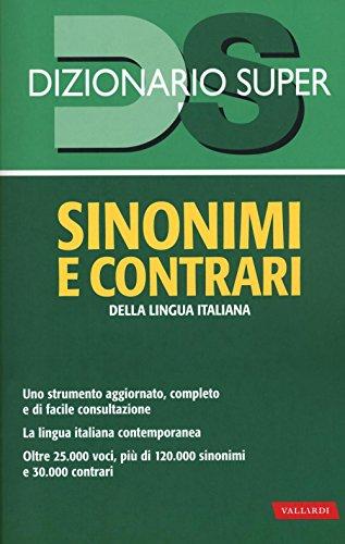 Dizionario sinonimi e contrari della lingua italiana