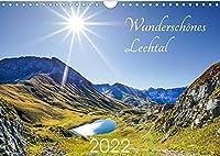 Wunderschoenes Lechtal (Wandkalender 2022 DIN A4 quer): Das Lechtal - traumhafte Gebirgslandschaften. (Monatskalender, 14 Seiten )