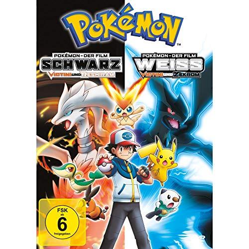 Pokémon - Der Film: Schwarz - Victini und Reshiram / Weiß - Victini und Zekrom [2 DVDs]