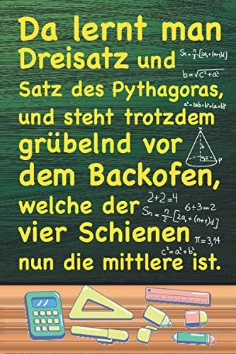 Da lernt man Dreisatz: XXL MATHE NOTIZBUCH 6:9 - 150 punktierte Seiten - für Mathematik Übungsaufgaben, Notizen, Nebenrechnungen, Skizzen, ... & Lehrer - Matheheft für die Schule & Uni