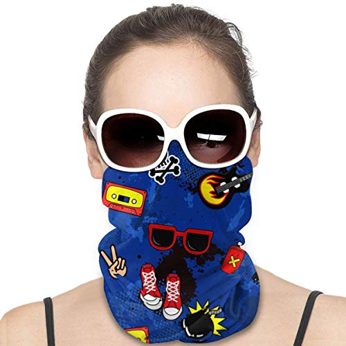 Pañales coloridos para niños y adolescentes, coloridos, para la cabeza, el sol, la cara, la bufanda, el pañuelo, el pasamontañas, la cinta para la pesca, la motociclismo, correr, el monopatín, la protección contra la humedad