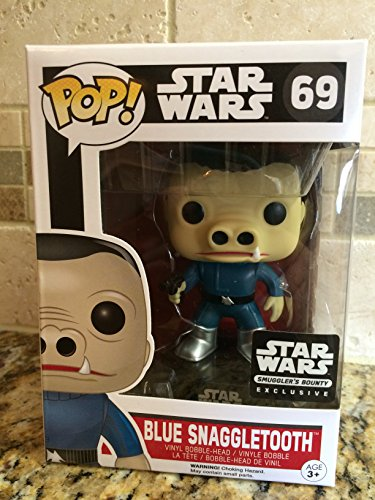 Funko POP! Star Wars Blue Snaggletooth Chase Smugglers Bounty Exclusive #69 Vinyl image