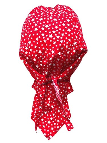 armardi b Bandana casquette étoiles Rouge