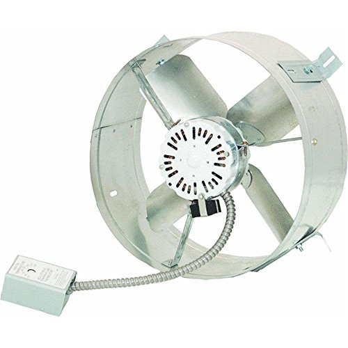 Cool Attic CX1500 Gable Mount Power Attic Ventilator with 2.6-Amp 60-Hz Motor and 14-Inch Blade