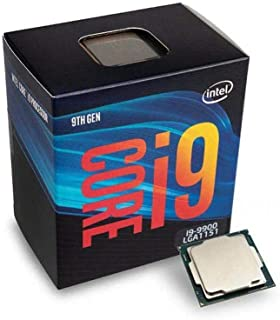 Intel Core i9-9900 コーヒーレイクプロセッサー 3.1GHz 8.0GT/s 16MB LGA 1151 CPU、小売用