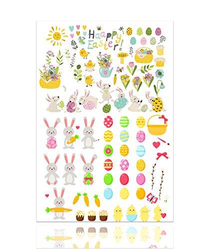 TK Gruppe Timo Klingler Aufkleber Sticker Ostern zum bekleben von Ostereier, Dekoration Klebebilder von Eier mit über 50 Motiven (Classic)