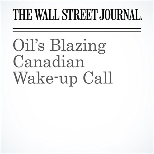 Oil's Blazing Canadian Wake-up Call audiobook cover art