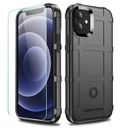 LABILUS Schutzhülle für iPhone 12 Mini (13,7 cm / 5,4 Zoll), TPU, dick, robust, Schwarz