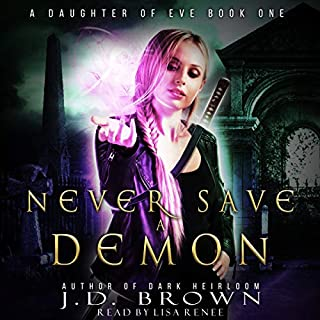 Never Save a Demon audiobook cover art