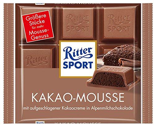 Ritter Sport Kakao-Mousse 6% Kakao - 100gr - 6x