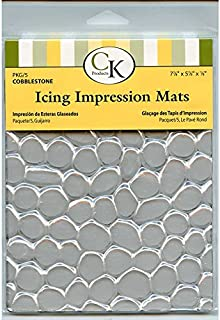 CK Products 35-2630 Cobblestone Icing Impression Mat, Clear