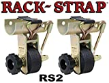Rack Strap 2 Pack, RS2, 1-7/8 Inch OD Round Pipe Steel Mounting Frame