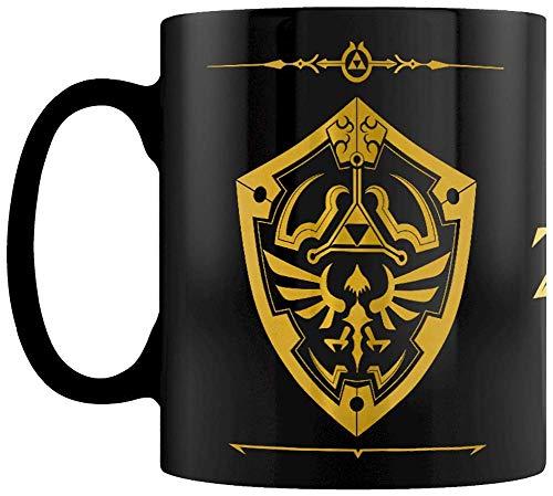 The Legend Of Zelda - Taza Foil Hylian Shield, 320ml