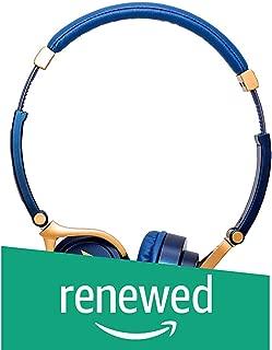 (Renewed) Motorola Pulse 3 Headphones with One Touch Amazon Alexa (Blue)
