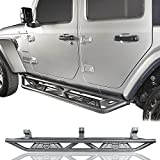 u-Box Wrangler JLU Unlimited Side Step Running Board Nerf Bars w/Since 1941 Logo Compatible with 2018 2019 2020...