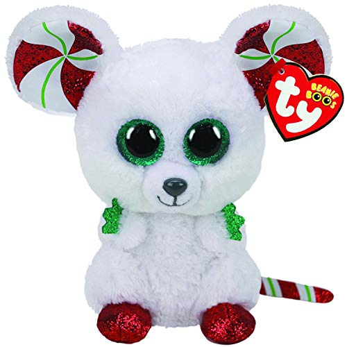 TY Beanie Boos 6' Christmas Edition - Chimney The Mouse - Perfect Plush!