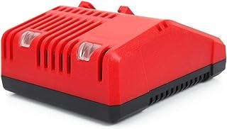 Batteriladdare för Milwaukee M18, Batteriladdare EU-kontakt med indikator för Milwaukee 2601-22 för Milwaukee 18 Volt slad...