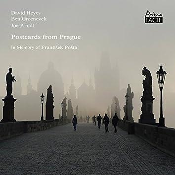 Postcards from Prague, in Memory of František Pošta