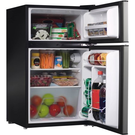 Door Stainless Steel Dorm Refrigerator