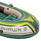 Intex Seahawk 3 Set Schlauchboot - 295 x 137 x 43 cm - 3-teilig - Grün - 4