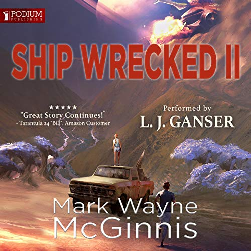 Ship Wrecked II audiobook cover art