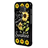 BOSLIVE Galaxy S7 Active Case, You are My Sunshine Sunflower Background Design TPU Slim Anti-Scratch Protective Cover Case for Samsung Galaxy S7 Active
