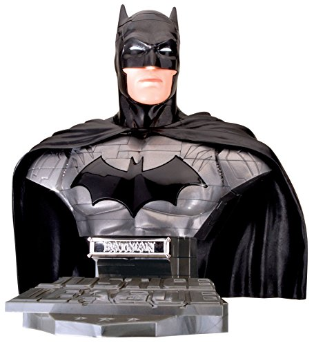 Puzzle Fun 3D 80657200 80657200-Justice League Comic Batman zum Basteln und Spielen oder als Geschenk, schwarz, grau