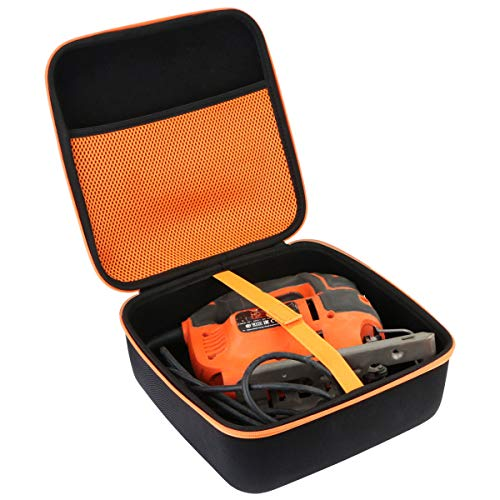 Aenllosi Hard Carrying Case Compatible with BLACK+DECKER Jig Saw 5.0-Amp BDEJS600C
