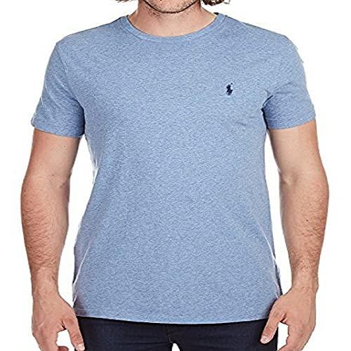 Polo Ralph Lauren camiseta con cuello redondo para hombre y logotipo de caballo