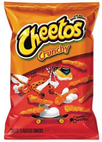 CHEETOS Crunchy Cheese - Large / Groß - 226g / 8oz