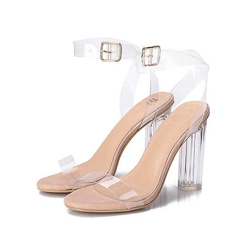 9312099912e3e Transparent Heel: Amazon.com