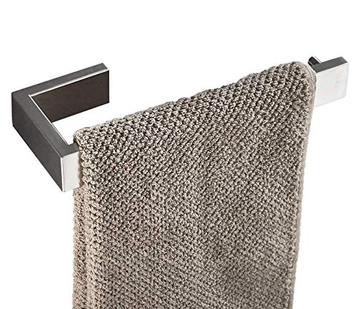 N\C QRYY Accesorios de baño de Acero Inoxidable Herrajes Soporte para Barra de Toalla de níquel Cepillado montado en la Pared