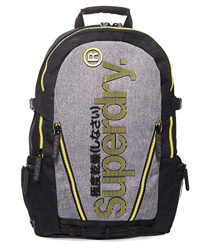 Superdry Tarp Monoline Backpack Light Grey