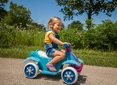 Kid Trax Ride-On Quad, Battery-Powered Toy, 6V, Disney Frozen 2 Blue