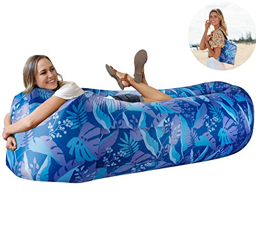 Wekapo Inflatable Lounger Air Sofa Hammock-Portable,Water Proof& Anti-Air Leaking Design-Ideal Couch for Backyard...