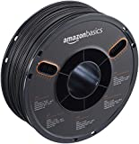 Amazon Basics ABS 3D Printer Filament, 1.75mm, Black, 1 kg Spool